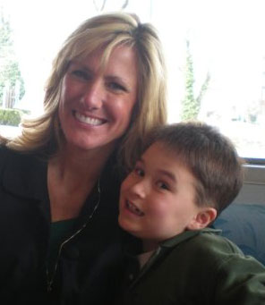 Owner Drew's wife Kirsten and their son Jake