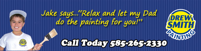 Drew Smith Painting - Jake Says - Relax and let my dad do the painting for you!